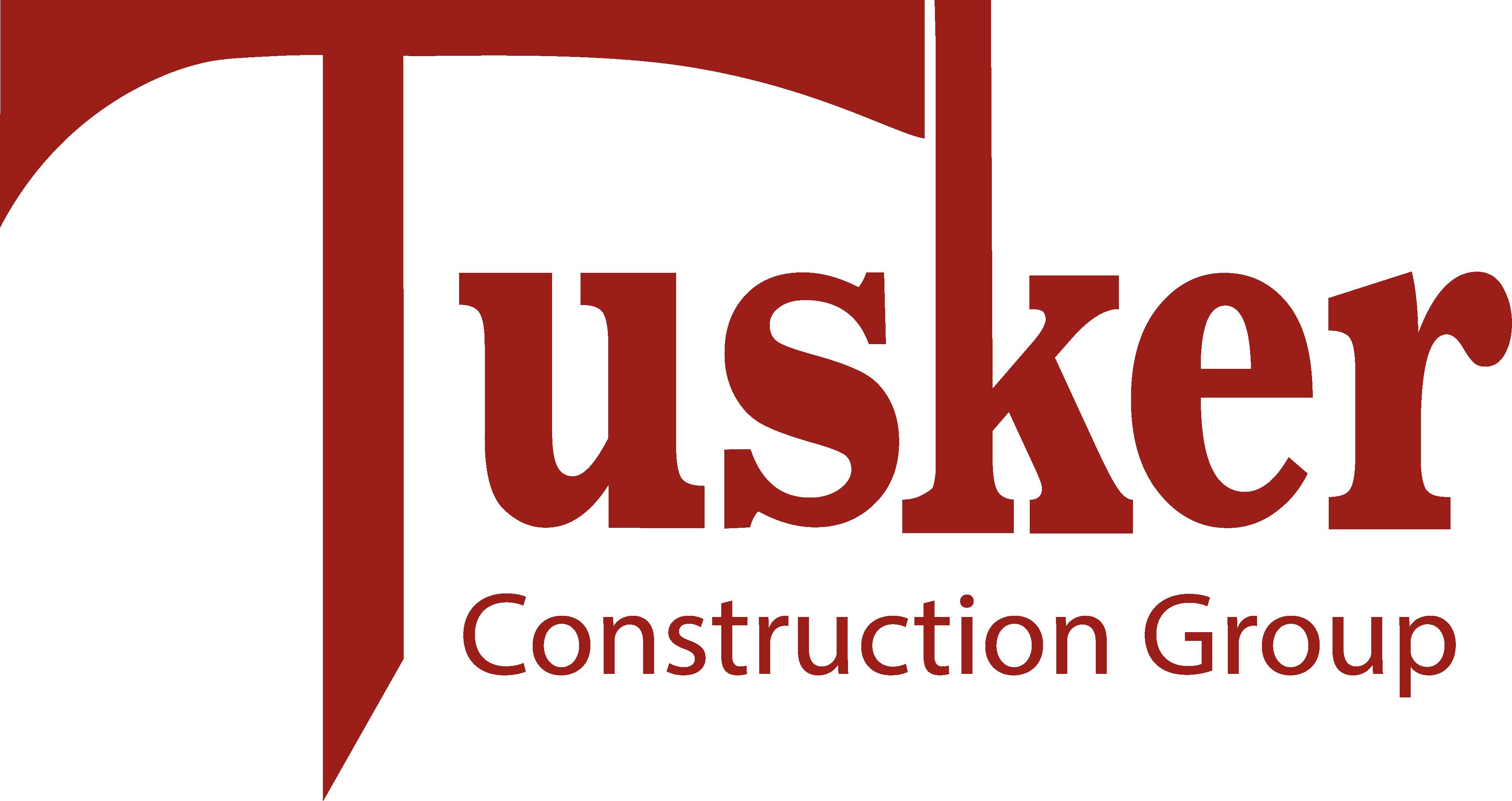Tusker Construction Logo Transparent PNG